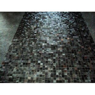 Affordable Price Patchwork Angola Black Area Rug ByModern Rugs