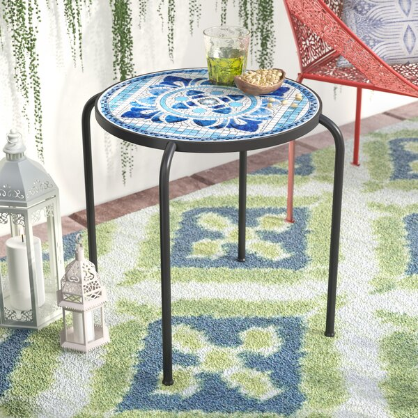 Hayley Outdoor Side Table by Lark Manor