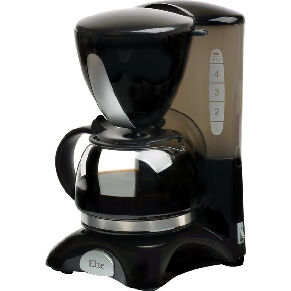 Cuisine 4 Cup Coffee Maker by Elite by Maxi-Matic