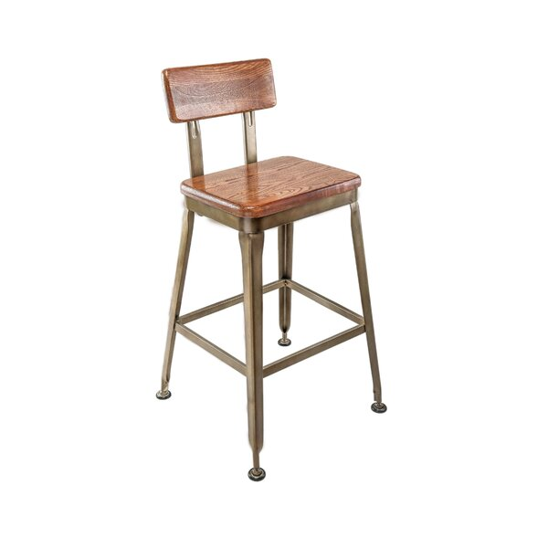 Nevada Solid Wood Counter & Bar Stool By Williston Forge