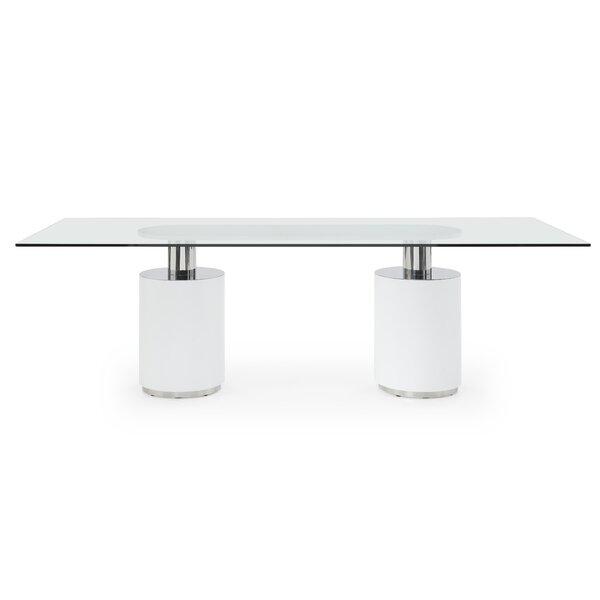 Lokshin Dining Table by Orren Ellis Orren Ellis