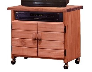 Giana Solid Wood TV Stand For TVs Up To 32