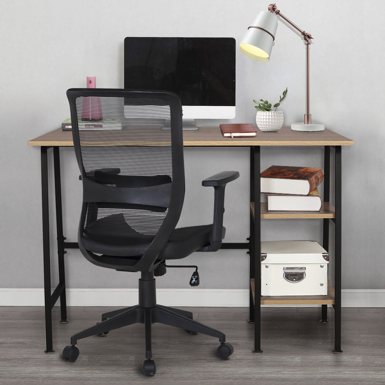 Latitude Run® Turkol Reversible Desk and Chair Set & Reviews | Wayfair