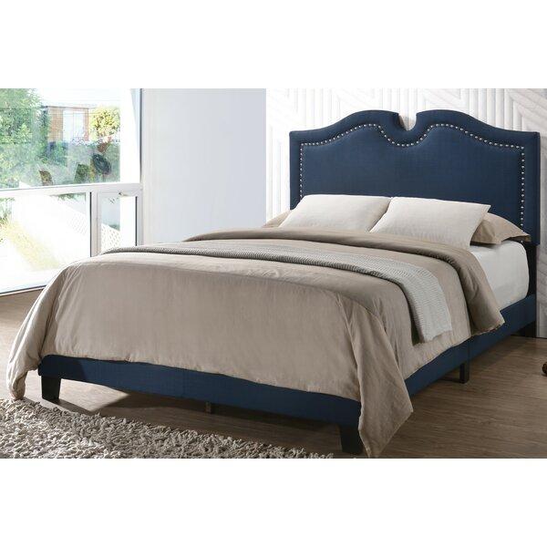 Eligah Upholstered Standard Bed Charlton Home W000910725