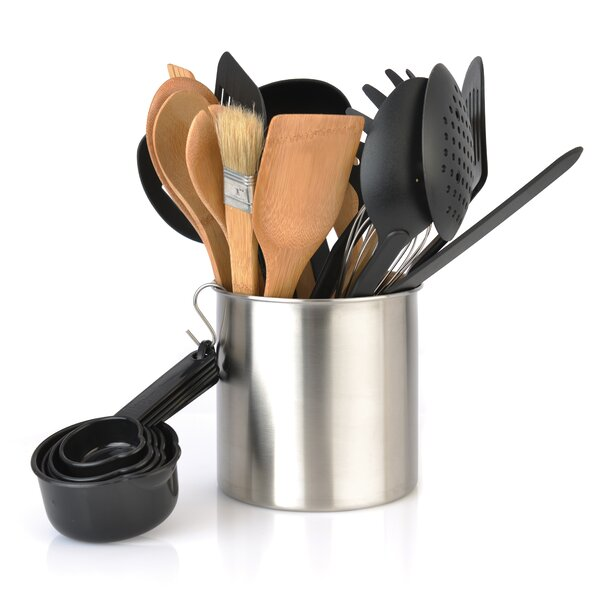 Chernev 23 Piece Tub of Tools Set by Mint Pantry