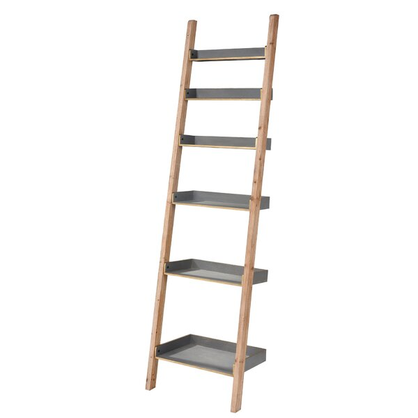 Review Waville Inclined Ladder Bookcase