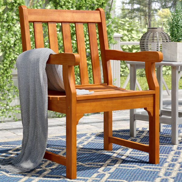 Cadsden Patio Garden Chair by Three Posts