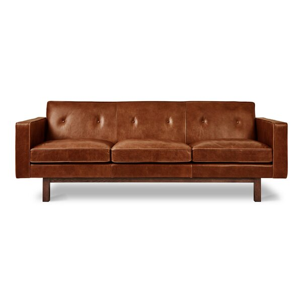 Embassy Leather Sofa by Gus* Modern