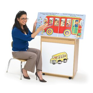 Affordable Price Value Line Double Sided Teaching Cart with Casters By Angeles