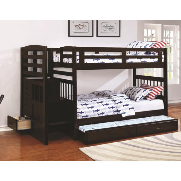Westbrook Bunk Bed with Trundle by Harriet Bee