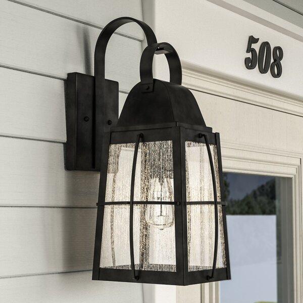Wadkins 1-Light Outdoor Wall Lantern By Darby Home Co