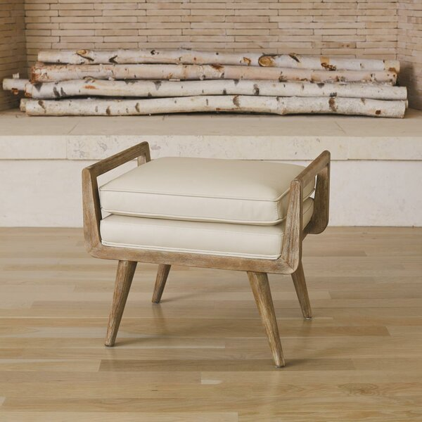 Lucas Short Ottoman by Global Views