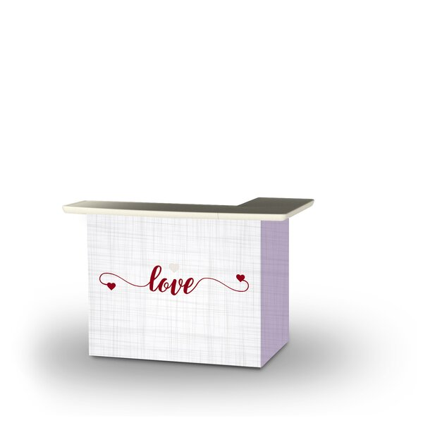 Wylde Valentines Simple Love Home Bar by East Urban Home