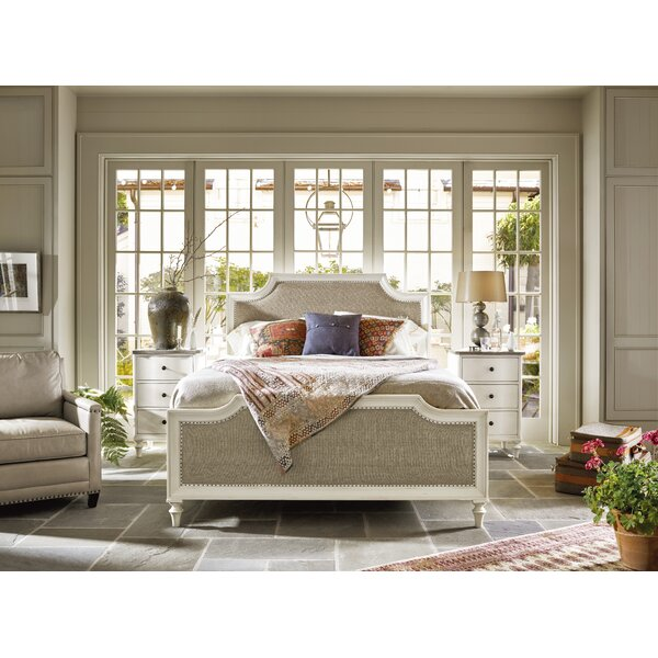 Cyrilmagnin Upholstered Panel Bed by Darby Home Co