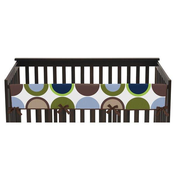 Designer Dot Long Crib Rail Guard Cover by Sweet Jojo Designs