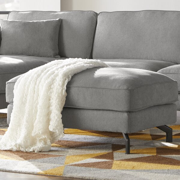Cheek Sectional Ottoman by Union Rustic