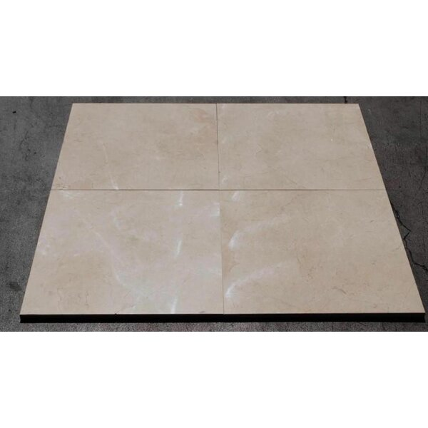Crema Marfil Standard Polished 18x18 Marble Field Tile