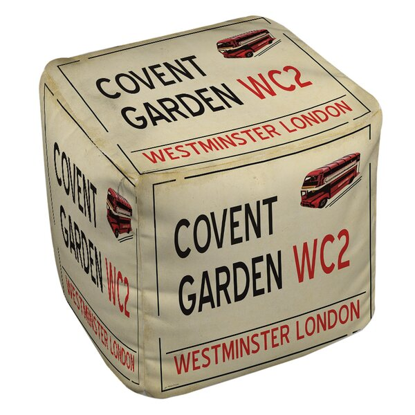 Covent Garden Pouf by Manual Woodworkers & Weavers
