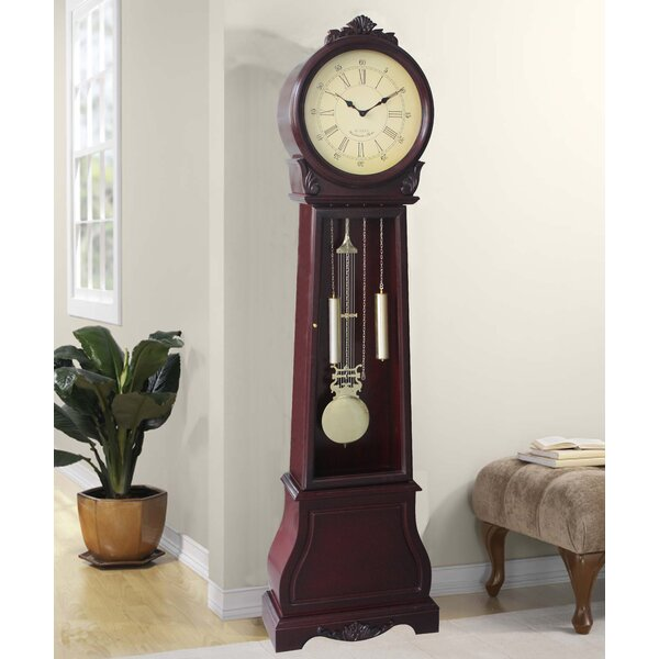 72 Floor Standing Grandfather Clock by Jenlea