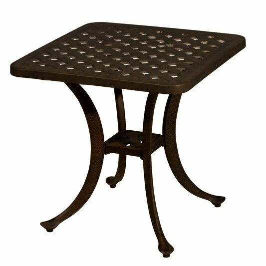 Aldrich Aluminum Side Table by Darby Home Co