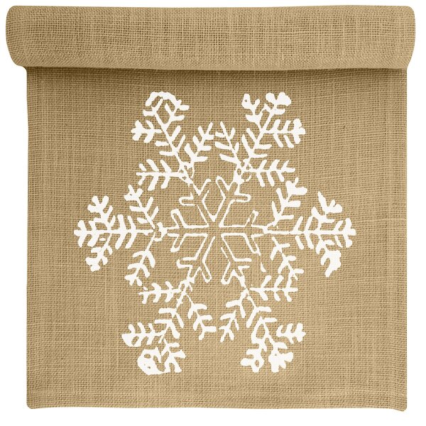 Mifflin Burlap Table Runner by Alcott Hill
