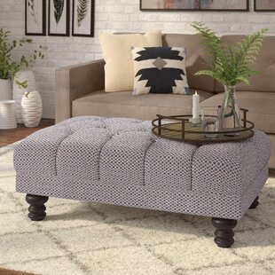 Online Reviews Dengler Ottoman By Ebern Designs