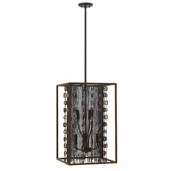 Mercato 6-Light Unique / Statement Rectangle / Square Chandelier by Hinkley Hinkley