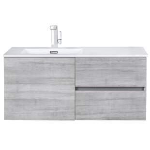 Price Check 42 Wall-Mounted Single Bathroom Vanity Set By Cutler Kitchen & Bath