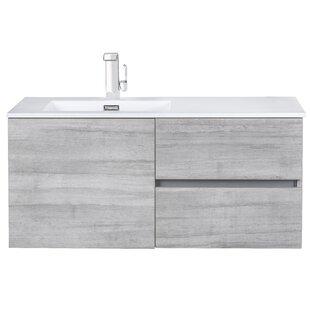 Order 42 Wall-Mounted Single Bathroom Vanity Set ByCutler Kitchen & Bath