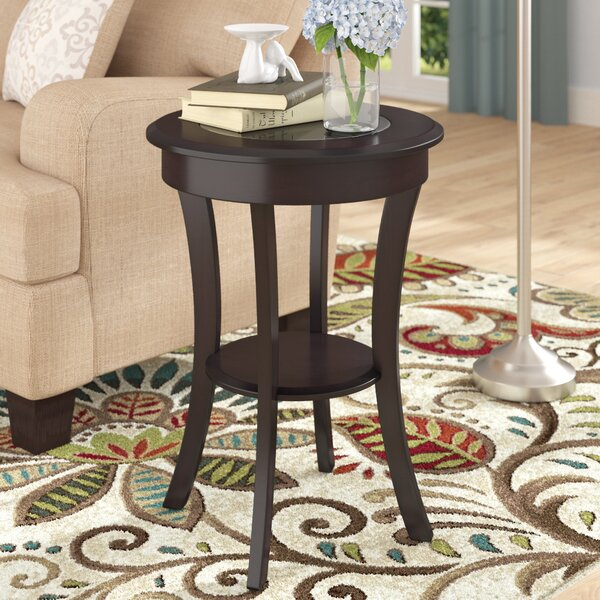 Jaworski End Table With Storage By Ebern Designs