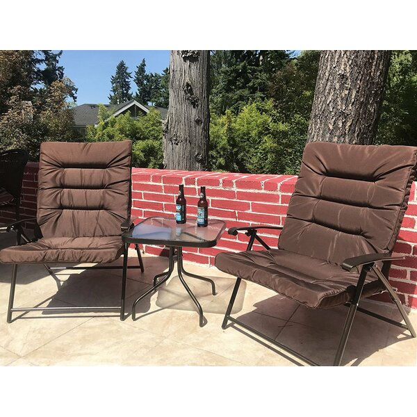 Surfwood 3 Piece 2 Person Seating Group with Cushions by Winston Porter