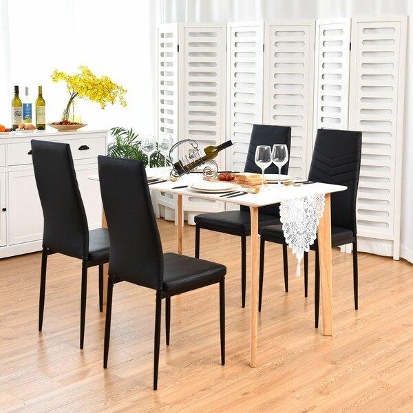 Killingly Upholstered Dining Chair (Set of 4) by Orren Ellis Orren Ellis