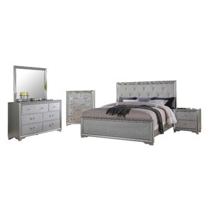 Rohan Panel 5 Piece Bedroom Set by Willa Arlo Interiors