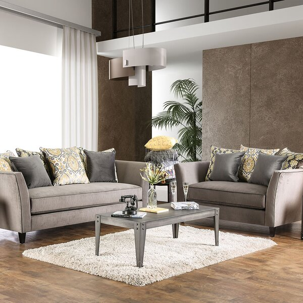Calanthe 2 Piece Living Room Set by House of Hampton