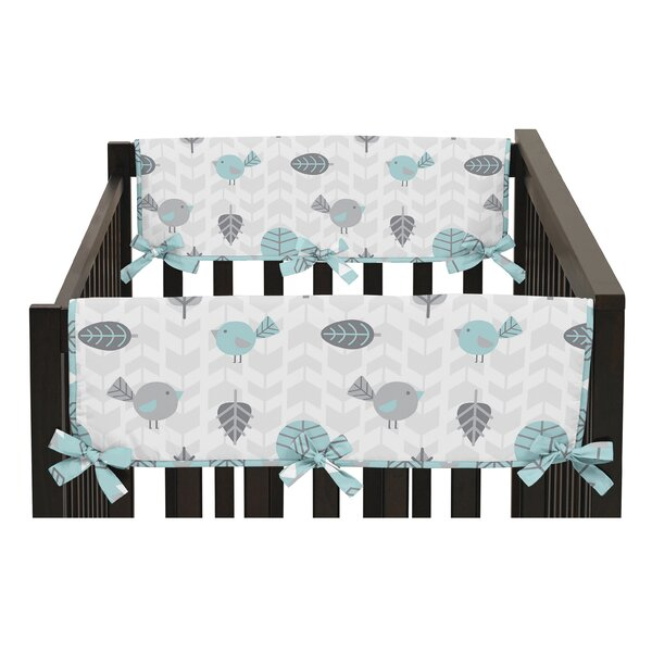 Earth and Sky Side Crib Rail Guard Cover (Set of 2) by Sweet Jojo Designs
