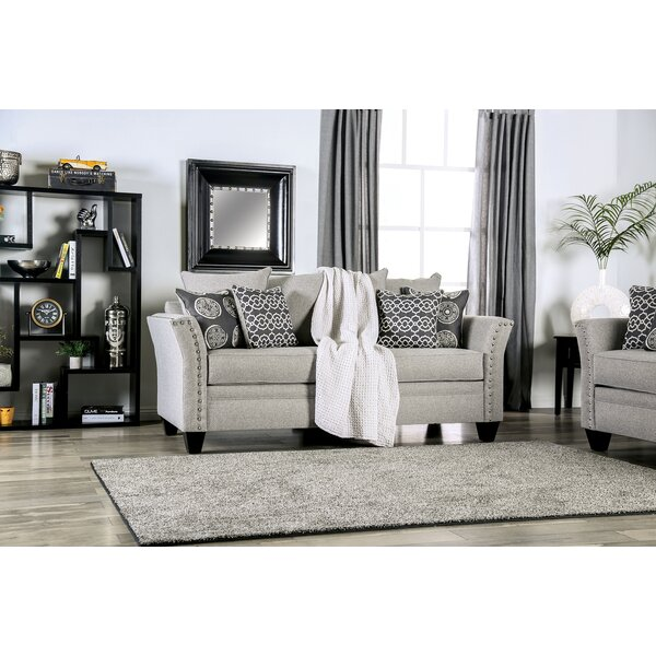 Chasse Flared Arms Sofa by Darby Home Co