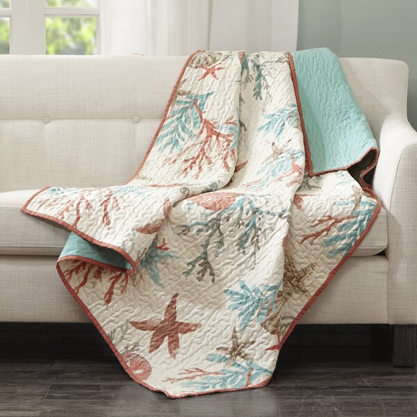 Keyport Cotton Throw by Beachcrest Home