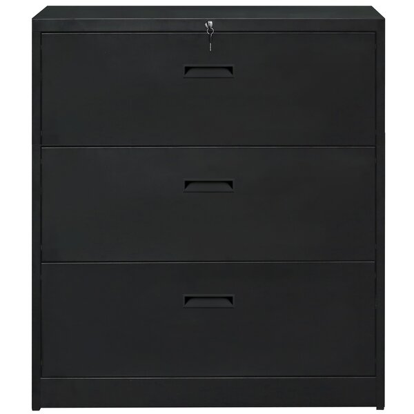 Akenzie 3-Drawer Vertical Filing Cabinet