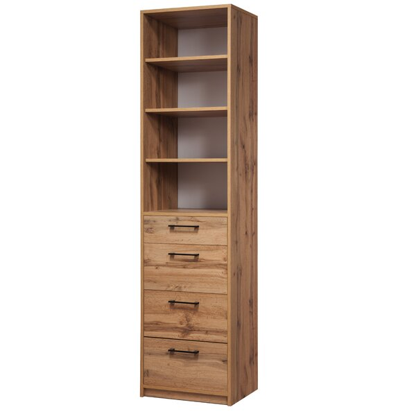 Viviano Standard Bookcase by Millwood Pines