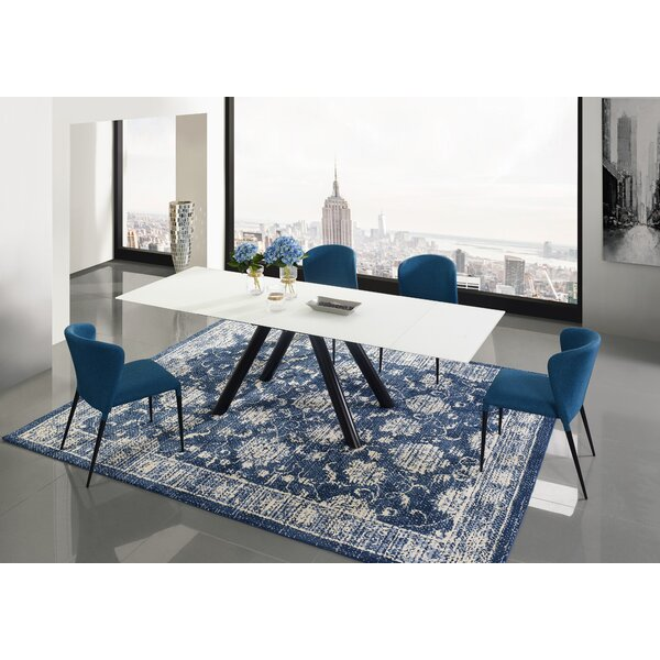 Shingleton 5 Piece Extendable Dining Table Set by Orren Ellis