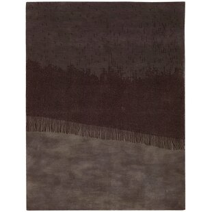 Best Price Luster Wash Fringe Ikat Orchid Area Rug By Calvin Klein