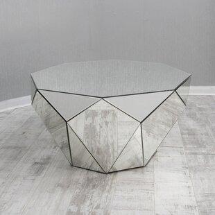 Ava Mirrored Coffee Table Wayfaircouk - Wayfair mirrored coffee table
