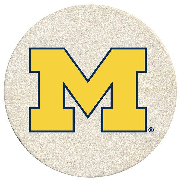 University of Michigan Collegiate Coaster (Set of 4) by Thirstystone