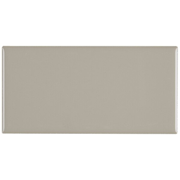 Guilford 3 x 6 Ceramic Subway Tile in Uptown Taupe by Itona Tile