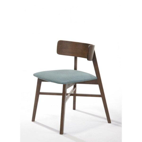 Velda Rubberwood Upholstered Dining Chair (Set of 2) by Corrigan Studio