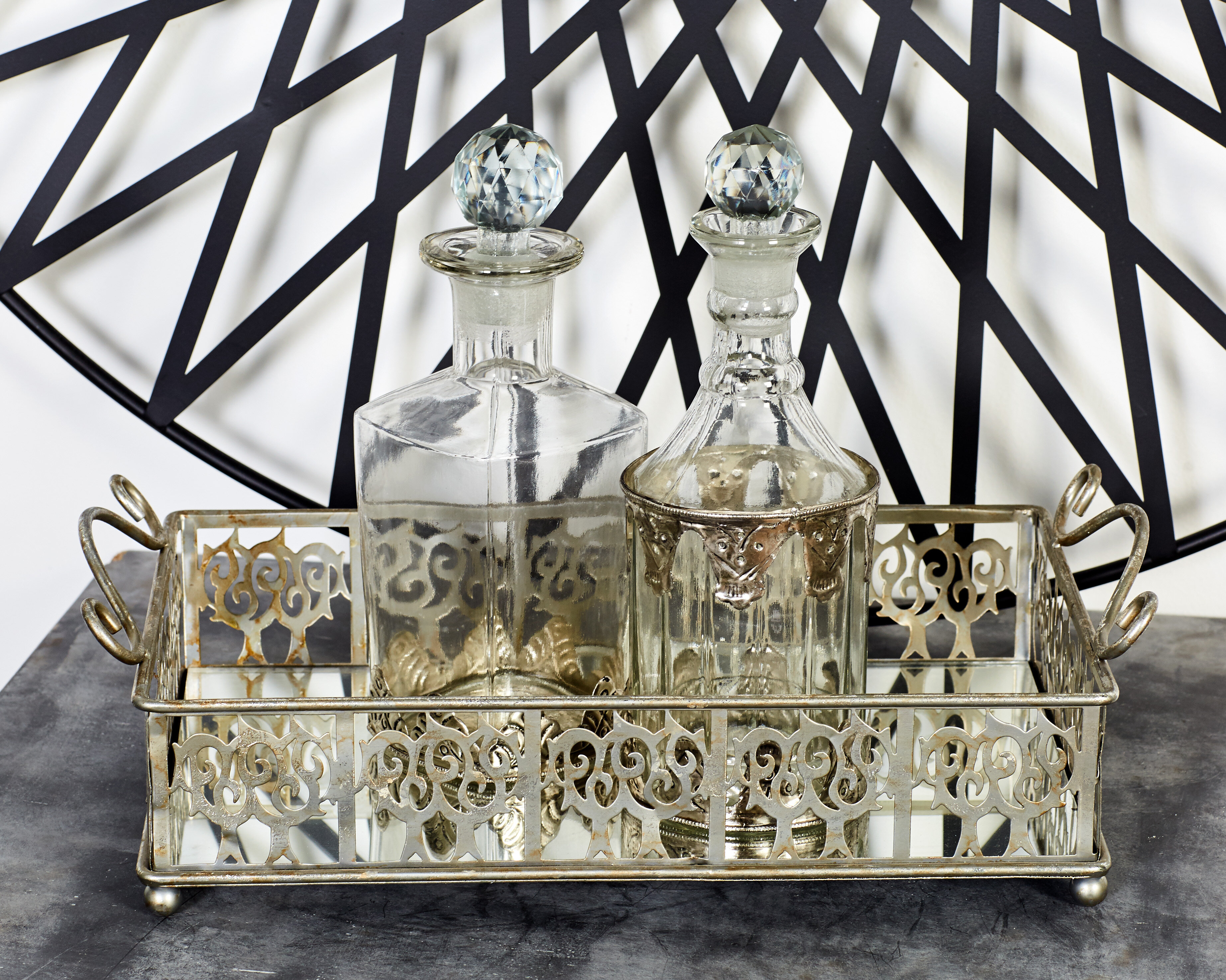 Mirror Solid Decorative Trays You Ll Love In 2021 Wayfair