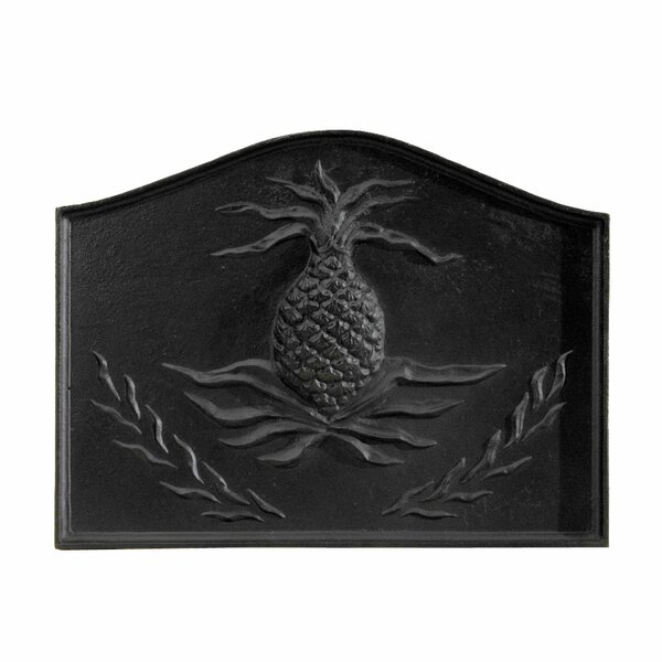 Pineapple Cast Iron Fire Back by Minuteman International