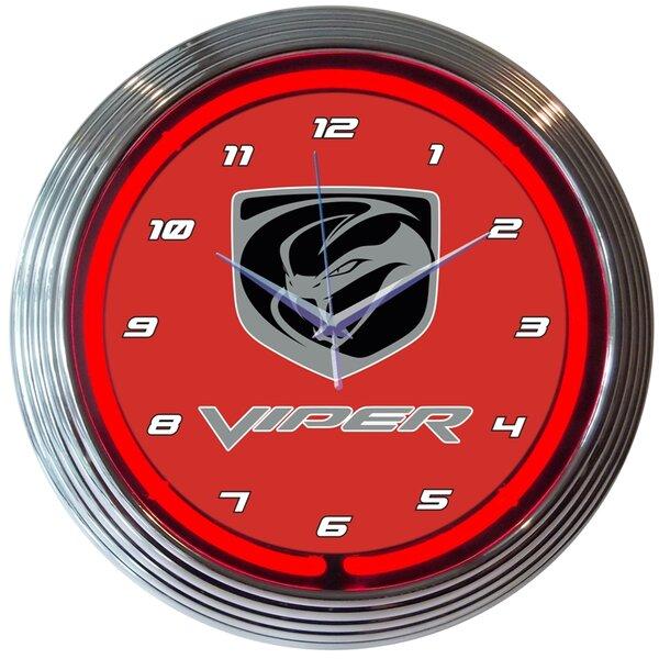 15 Viper Neon Clock by Neonetics
