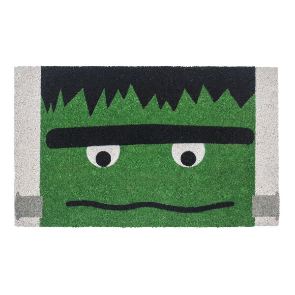 Chancery Frankenstein Non Slip Coir Doormat by The Holiday Aisle