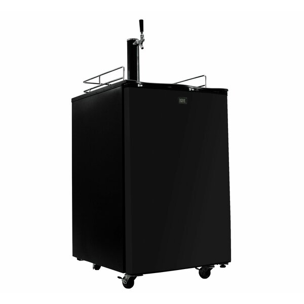 Single Tap Full Size Kegerator by Durostar
